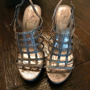 Adrienne Papell Sparkly Shoes  Sz 7